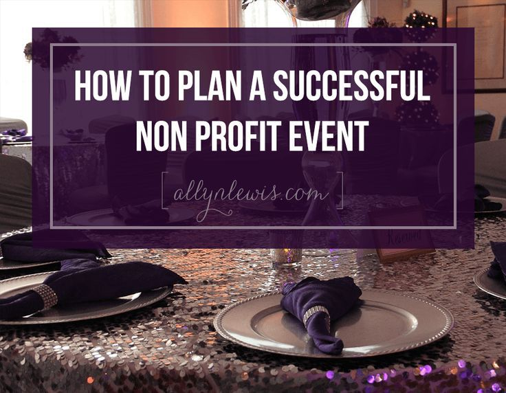 Charity event business plan