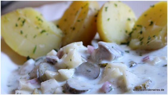 Wie finden wir es ???  : Marinierter Hering / Matjes in Buttermilch-Joghurt...