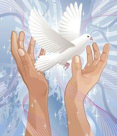 Τη μέρα που η δύναμη της αγάπης  θα υπερνικήσει την αγάπη της δύναμης,  ο κόσμος θα γνωρίσει την ειρήνη. Γκάντι