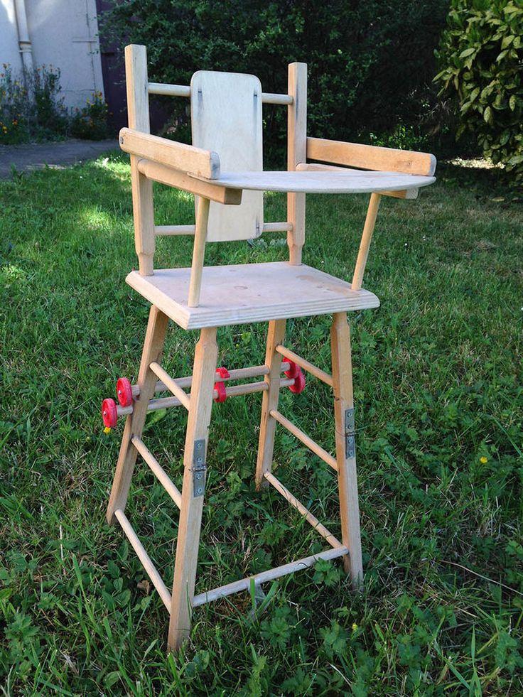 Les 25 meilleures id es de la cat gorie jouets anciens sur pinterest le tri - Chaise haute modulable ...