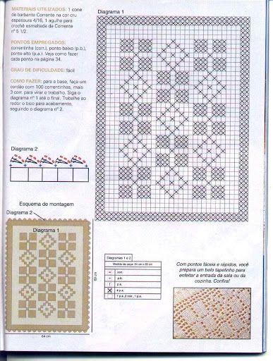 Tapetes Diversos em Crochê - soniartes crochê 2 - Álbuns Web Picasa