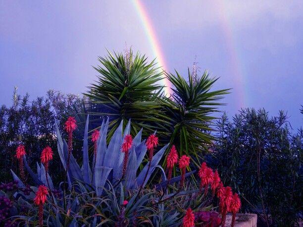 Arcobaleni siciliani Foto ritoccata