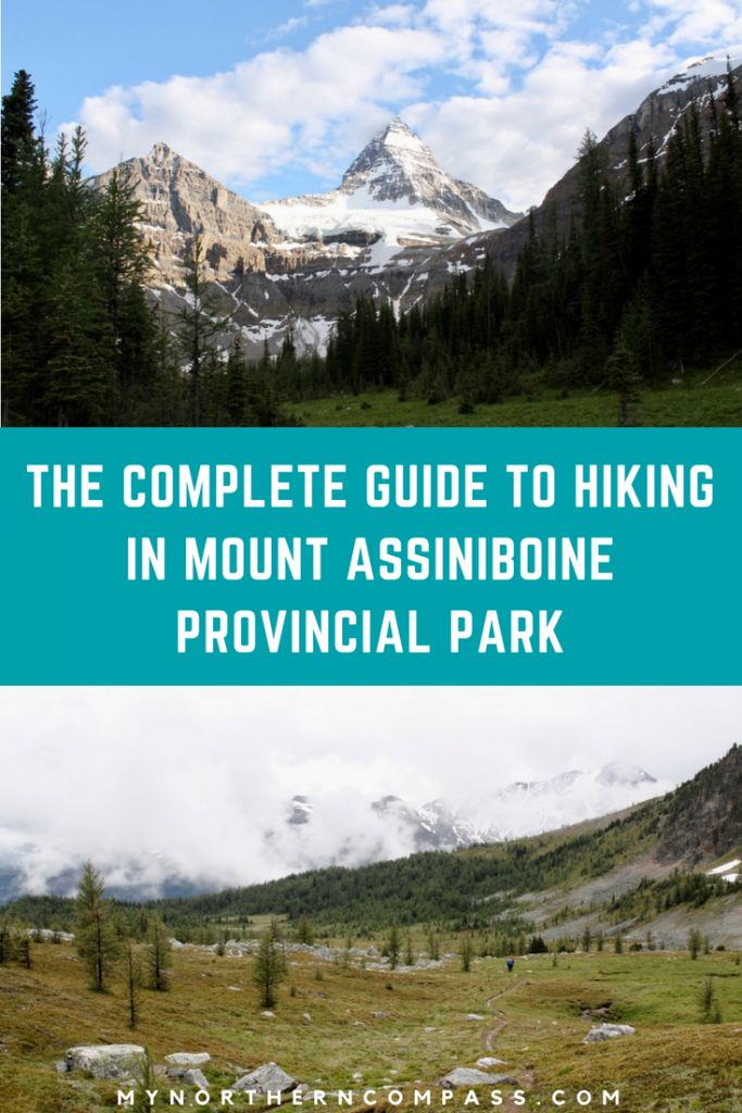 The Complete Guide To Hiking In Mount Assiniboine Provincial Park