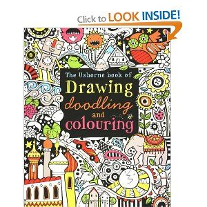 Drawing Doodling And Colouring Book: Amazon.ca: Fiona Watt, Katie Lovell: Books