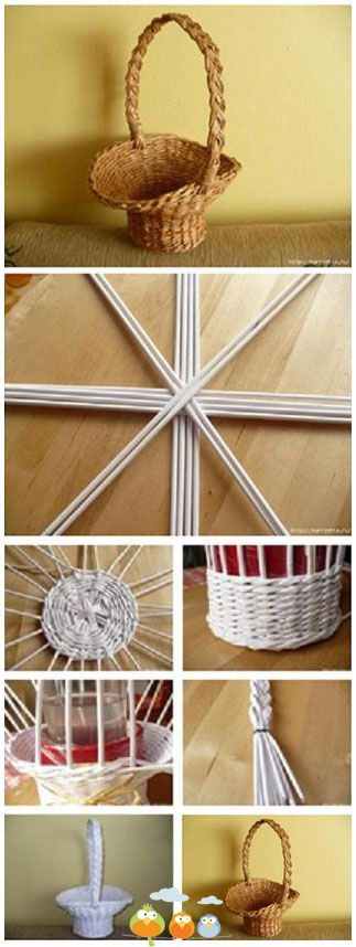 Wicker basket make over