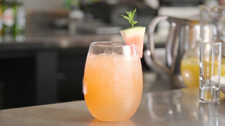 Move aside, Bloody Mary. There's a new brunch cocktail in town. The 'Good Morning Sunshine' is a refreshing pick-me-up of a cocktail at Lulu's Cafe in Myrt