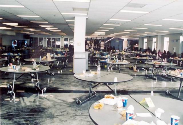 Eric Harris | Shooting 2 | Murderpedia, the encyclopedia of murderers Cafeteria