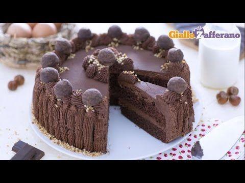 ▶ Torta morbida al cacao con ganache al cioccolato - YouTube