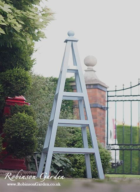 Robinson Garden Bespoke Wooden Obelisks View Our Full Collection At Online Visit