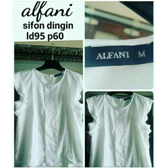Alfani Pure White Bahan : sifon halus dingin, tdk tipis dan mewah Pemesanan via WA : 081804447293 Atau Official Line @lsu5782g