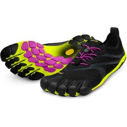 I wear these for CrossFit. Best pair of workout/running shoes I have ever owned. Vibram FiveFingers Bikila Evo Road-Running Shoes - Women's