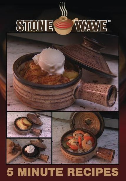 Stone Wave Recipes just received this as a gift made a poached egg ,can't wait to try more.