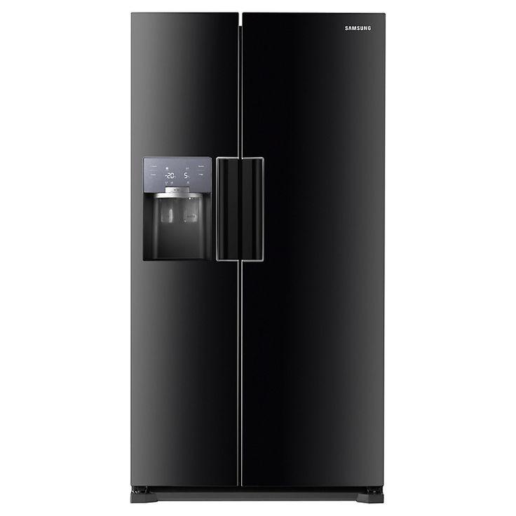 Buy Samsung RS7667FHCBC American Style Fridge Freezer, Black | John Lewis