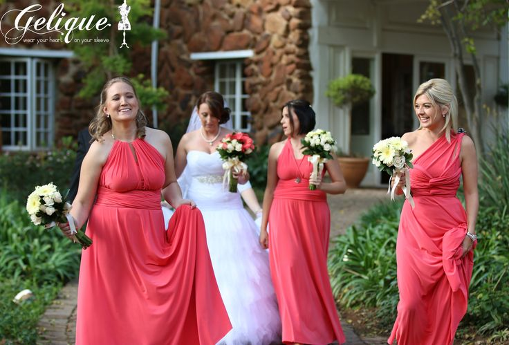 Gelique bridesmaid dresses R650 for long and R600 for short Contact us for more info - www.geliqueonline.com