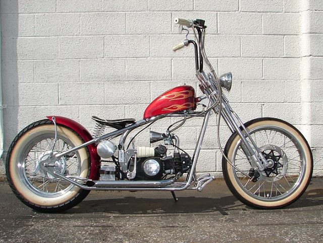 Old School Choppers | Bobber Forever: October 2012