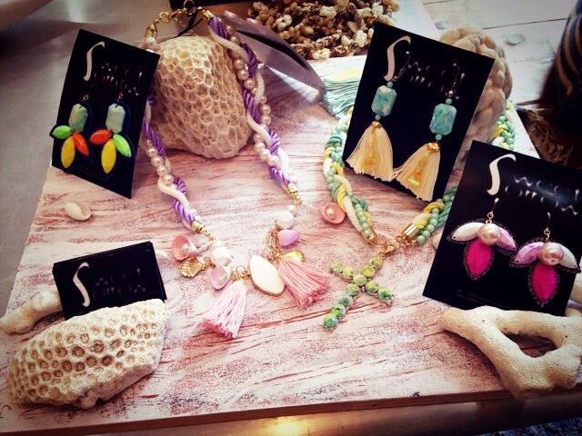 #Tokyo Omotesando  hair salon HONEY #accesaries #necklace #earrings #sweet #sorrow #表参道 #HONEY #美容室 #東京