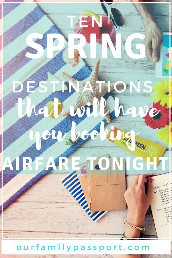 TRAVEL DESTINATION IDEAS | Spring Break Ideas, Spring Break Destinations, Spring Break Kids, spring break bucket list, trips, family, travel, places, spring break kids vacation, family trips, spring break destinations families.