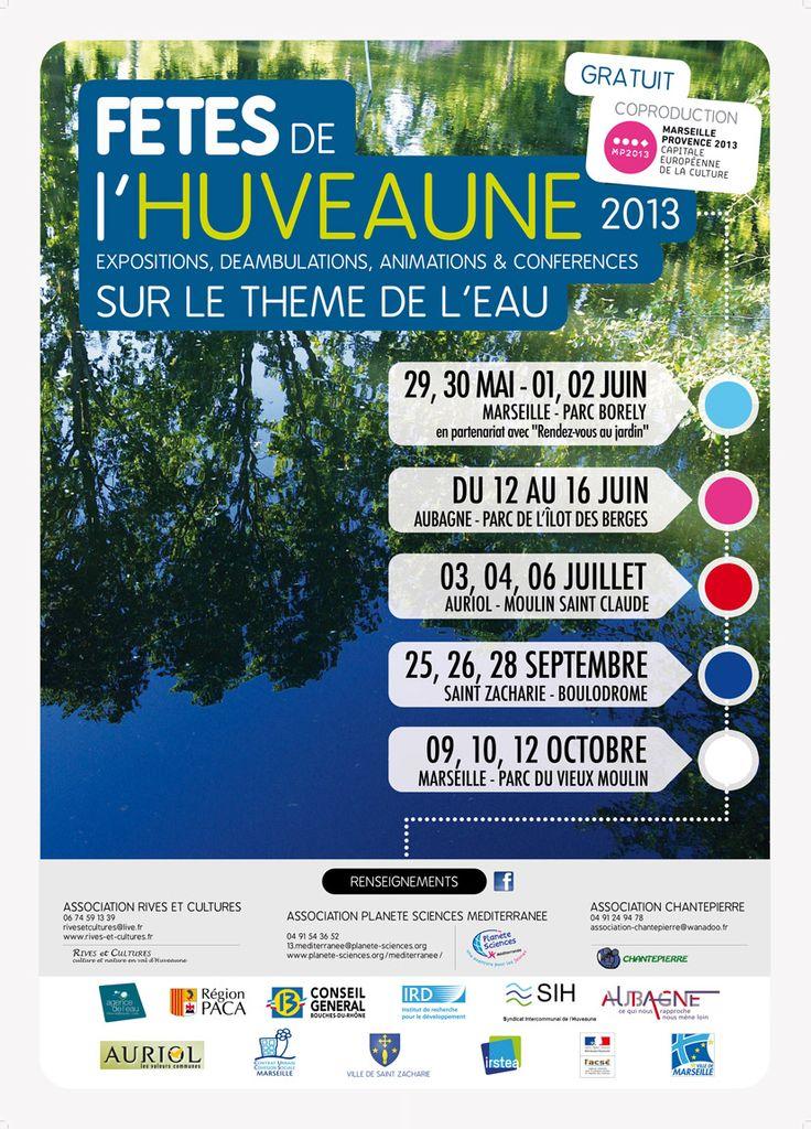 Fêtes de l'Huveaune. Du 25 au 28 septembre 2013 à Saint Zacharie.