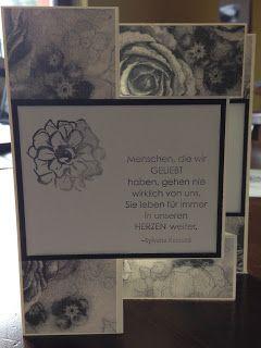 silkes seite : Trauerkarte