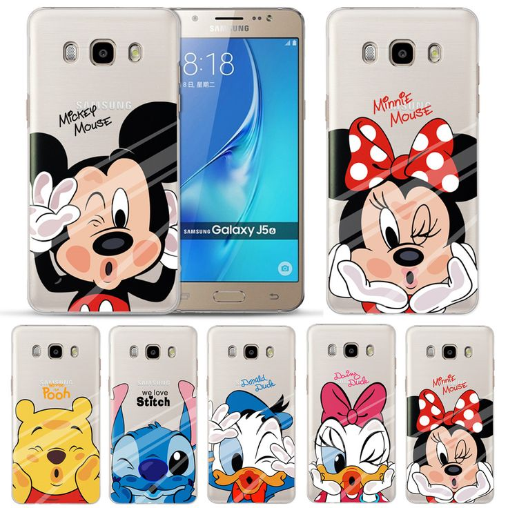 Soft Silicone TPU Case Cover for Samsung Galaxy J3 J5 J7 2015 2016 2017 J320 J510 Colorful Painting Phone Back Protector