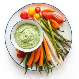 Avocado-Yogurt Dip I EatingWell