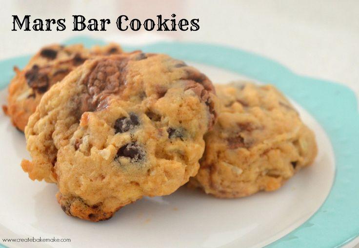 Mars Bar Cookies