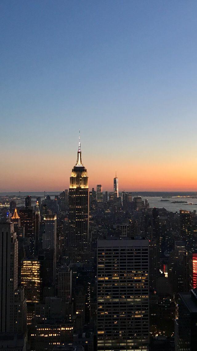 #nyc #empirestatebuilding #sunset #cityview
