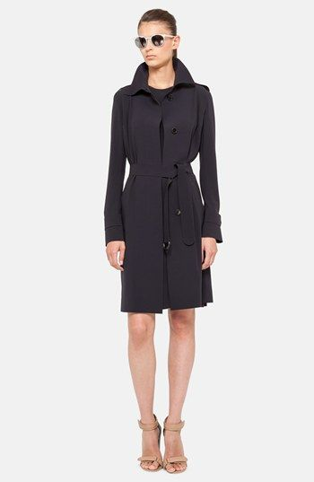 Akris punto Trench Coat & Techno Dress  available at #Nordstrom