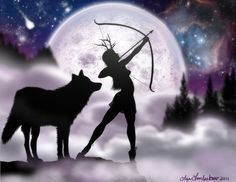 Article on Artemis from Encyclopedia Mythica (click to see it).