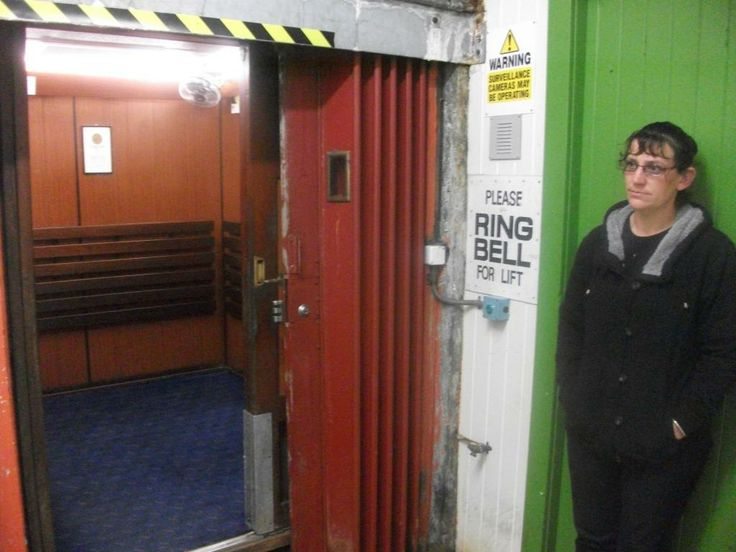 The Durie Hill Elevator with the elevator staff who is very wonderful to talk to :):):).