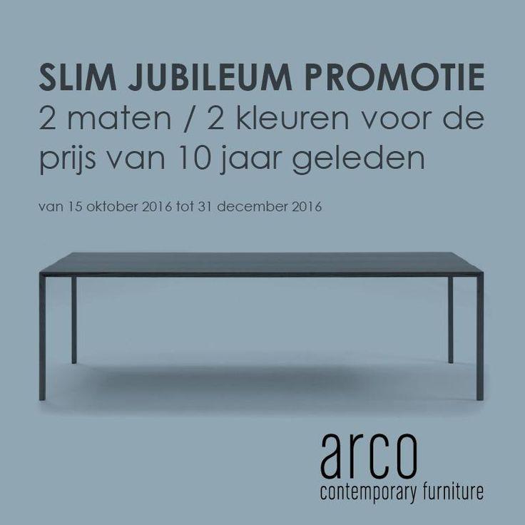 Slim Jubileum Promotie by Arco | Master Meubel, design meubelen en interieur inrichting