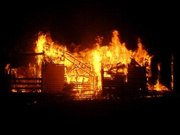 Another house goes australian bush fires