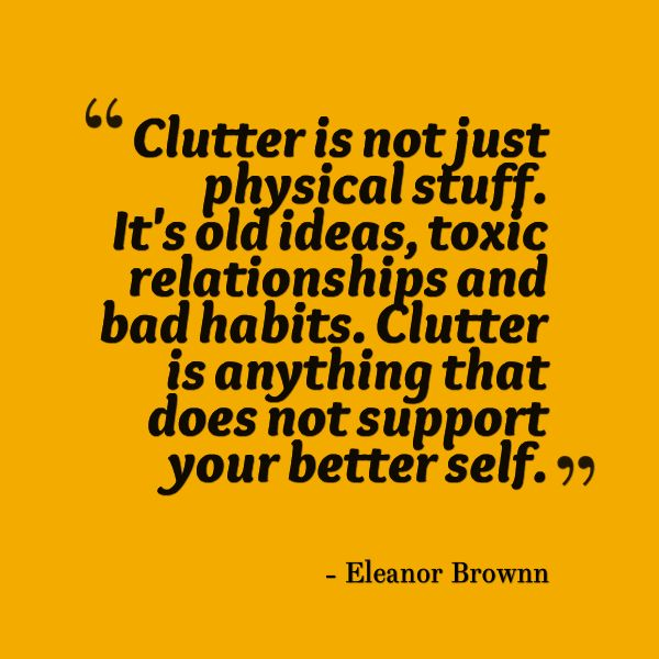 Mind decluttering can be an effective way to address stress levels and the frustrations and worries that everyday life generates. It is important to look after the body as well as the mind, and to take a step back to consider what is really important in life. This article sets out some simple exercises to help with the process and work towards a calmer, more focused way of thinking.