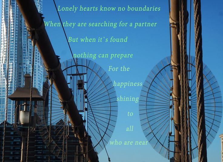 """Bridging Hearts"" Nothing can prepare for the happiness shining to all who are near!"