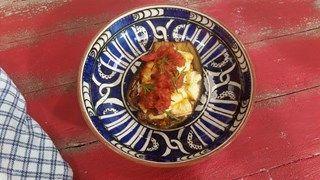 Fırında Peynirli Patlıcan Tarifi