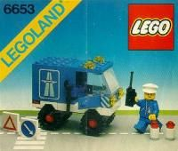 LEGO® Instructions 6653 Highway Maintenance Truck