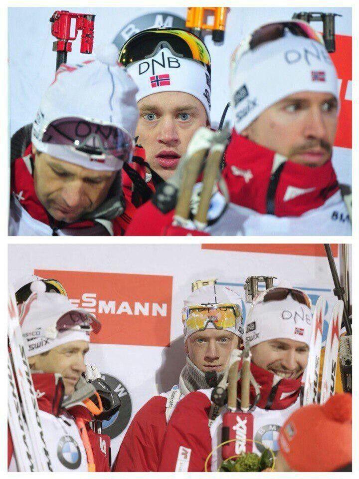 Tarjei & Johannes Boe + Ole Einar Bjorndalen and Emil Hegle Svendsen (NOR)