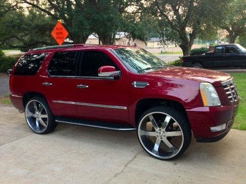 2007 Cadillac Escalade 28 inch rims, highway miles, 400+ hp AWD new tires, US $23,500.00, image 4