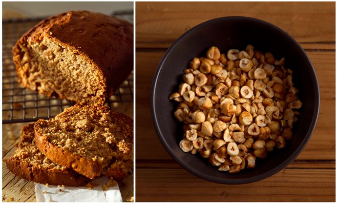 Banana & Hazelnut Bread
