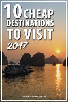 10 Cheap Destinations to Visit in 2017 – Pin This!