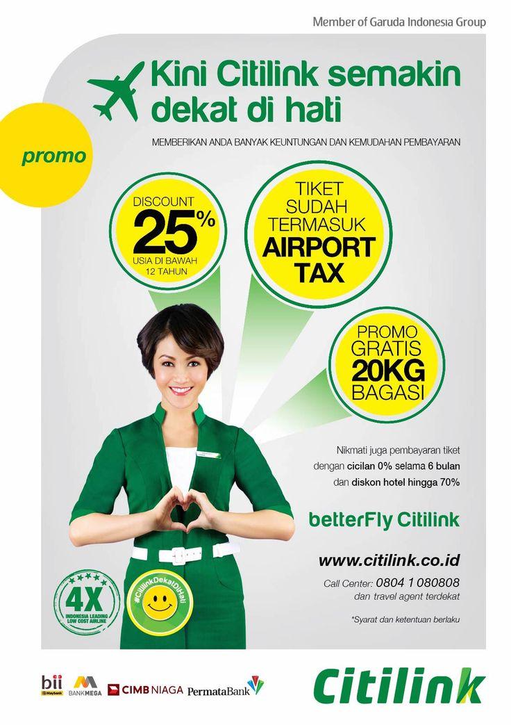 #CitilinkDekatDiHati Campaign