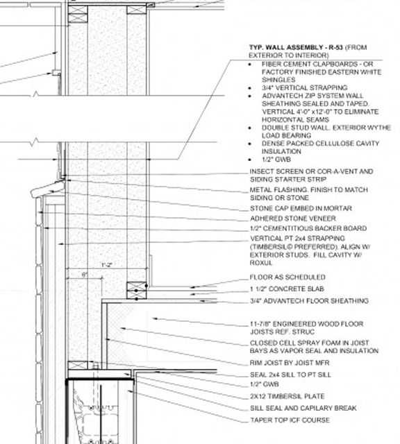 17 best images about high performance wood frame wall assemblies on pinterest the gap roof for Exterior stud wall construction