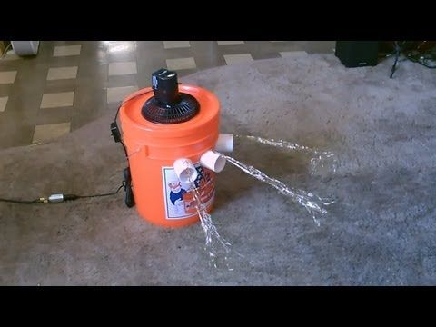 DIY: Make a small AC out of a water bucket