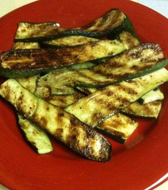 Grilled Zucchini | Saint Patricks day | Pinterest