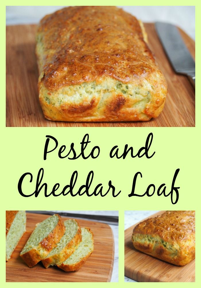 Pesto and cheese are the perfect partners in this savoury loaf.