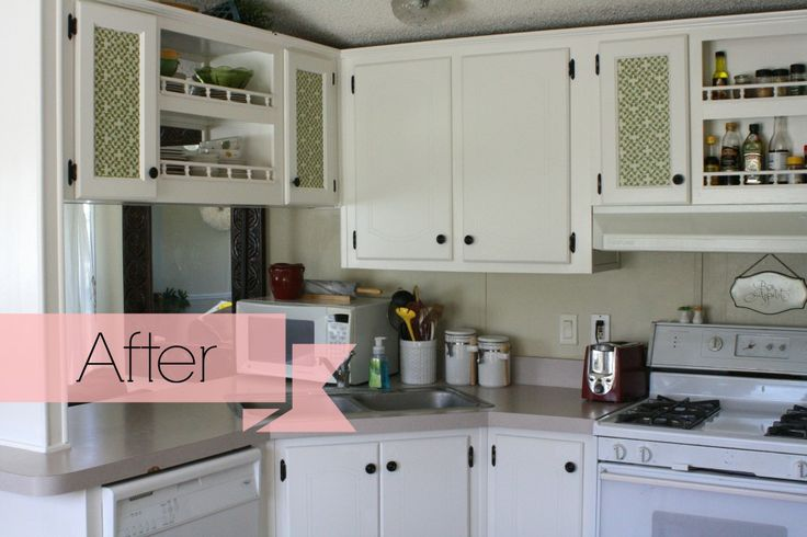 Update your kitchen cabinets by giving them a fresh coat ...