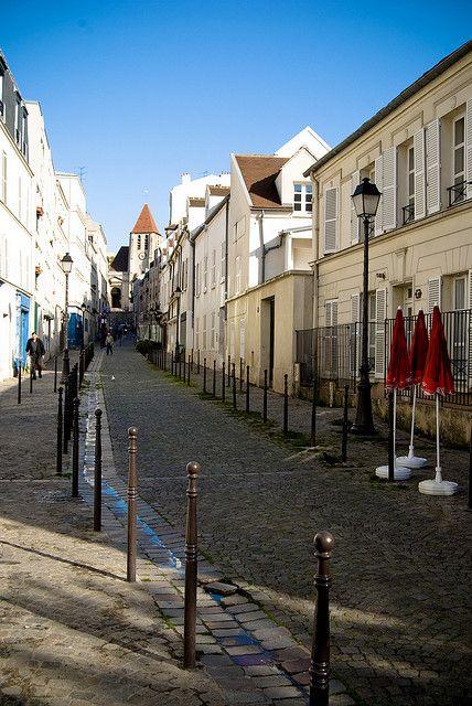 Saint Blaise Quarter, Charonne Village, rue St-Blaise, Paris XX