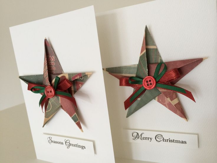 Origami Butterfly Christmas Cards $7.50 each Order via www.facebook.com/chienowa.origami