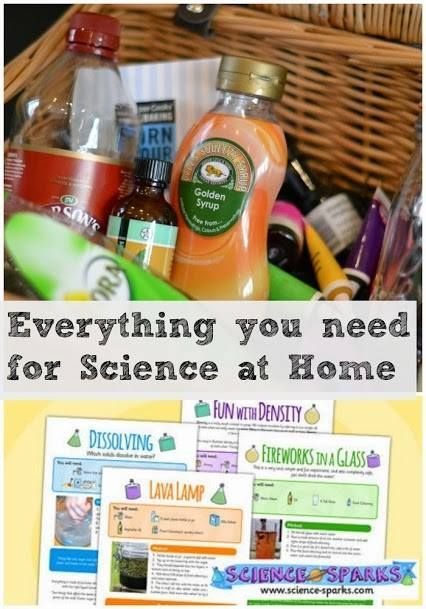 Science at home doesn't need to be about expensive kits and special equipment, you've probably got most things you need in your kitchen cupboards already.