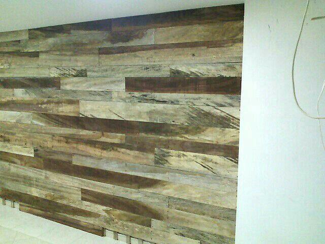Wood wall desing, remodelamos.casa